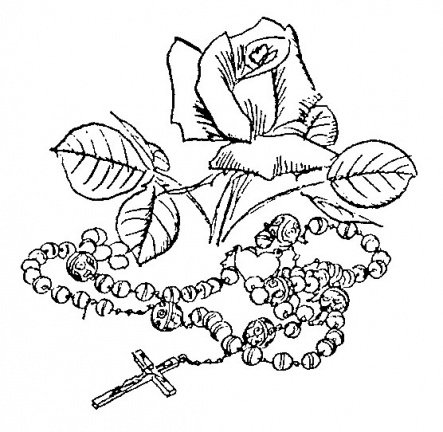 Rosary-Rose