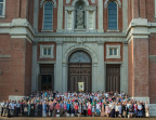 CMAA Day 3-Group Photography after Shrine of St Joseph