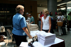Registration with Arlene Oost-Zinner
